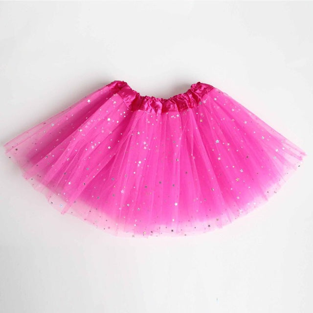 Puffy, Sparkly Petticoat Tutu for Young Flower Girls