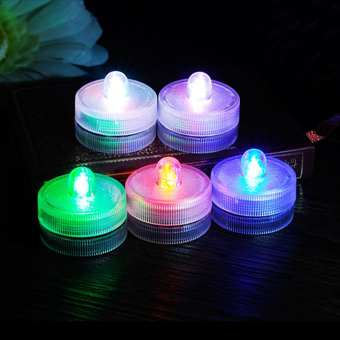 Waterproof Submersible LED Lights, 10 Pieces