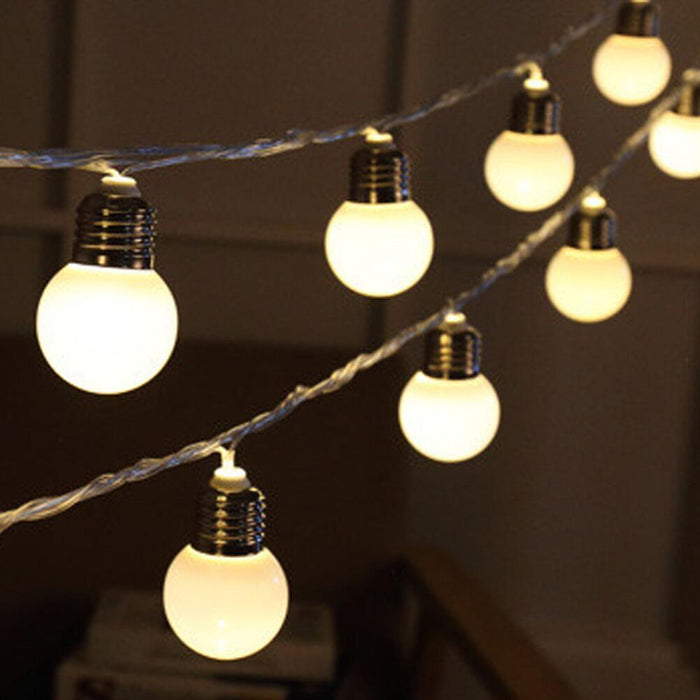 Festoon Lights, 5 metres, 20 Globes