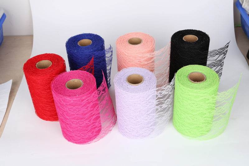 Tulle Wide Lace Ribbon 15cm x 22 Metres