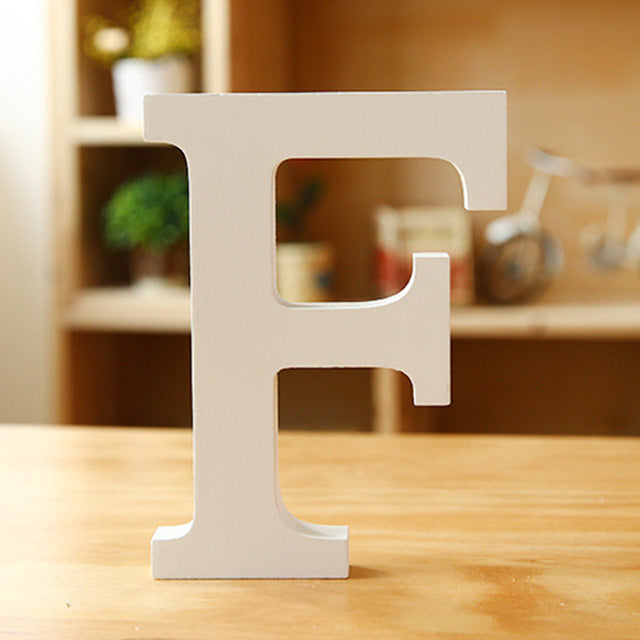Wooden Letter - F