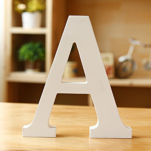Wooden Letter - A
