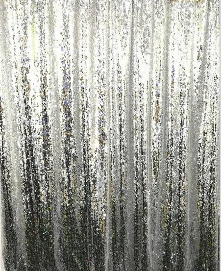 Gorgeous Sequin Backdrop Curtain, 10 colours, customised size