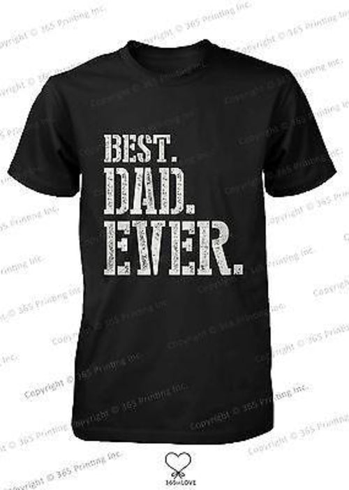 Best Dad Ever Stencil Style T-Shirt - Father's Day - Smart gadget & Accessories,Baby & toy