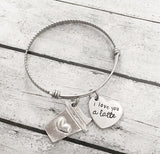 Love bracelet - Gift for loved one - Hand stamped - Smart gadget & Accessories,Baby & toy