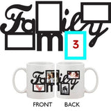 Personalized Coffee Mug For your Own Four Pictures