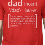Dad Noun Mens Red Graphic Tee Unique Fathers Day - Smart gadget & Accessories,Baby & toy