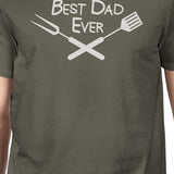 Best Bbq Dad Mens Dark Grey Round Neck Tee Fathers - Smart gadget & Accessories,Baby & toy