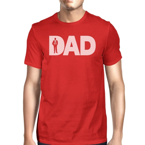 Dad Business Red T-shirt For Men Cotton Round Tee - Smart gadget & Accessories,Baby & toy