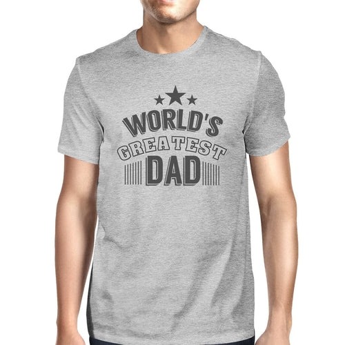 World's Greatest Dad Mens Cotton Graphic Tee
