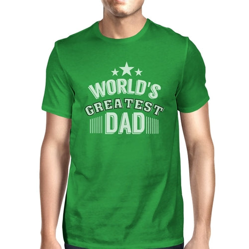 World's Greatest Dad Mens Funny Fathers Day Shirt