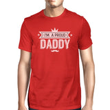 I'm A Proud Daddy Mens Red Cotton Round Neck - Smart gadget & Accessories,Baby & toy