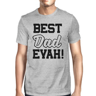Best Dad Ever Mens Grey Unique Design T Shirt - Smart gadget & Accessories,Baby & toy