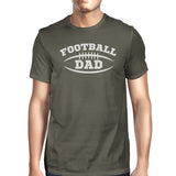 Football Dad Mens Dark Gray Cotton Graphic T-Shirt - Smart gadget & Accessories,Baby & toy