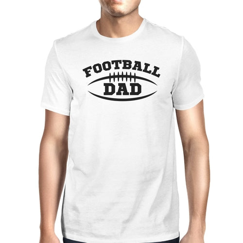 Football Dad Men's White Humorous Design T Shirt - Smart gadget & Accessories,Baby & toy