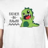 Father-In-Rawr Mens White Short Sleeve Shirt - Smart gadget & Accessories,Baby & toy