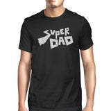 Super Dad T-Shirt Black Cotton Tee Perfect Fathers
