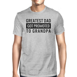 Greatest Dad Got Promoted To Grandpa Men's Grey - Smart gadget & Accessories,Baby & toy