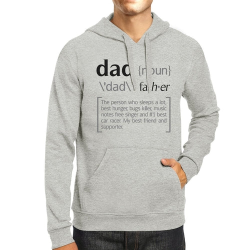Dad Noun Grey Unisex Funny Design Hoodie For - Smart gadget & Accessories,Baby & toy