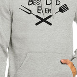 Best Bbq Dad Gray Funny Design Hoodie Witty Gifts - Smart gadget & Accessories,Baby & toy