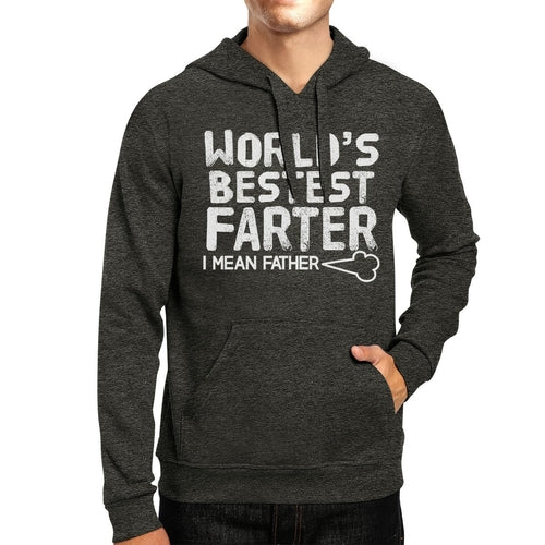 World's Bestest Farter Hilarious Dad Hoodie Funny