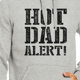 Hot Dad Alert Unisex Grey Hoodie Cute Fathers Day - Smart gadget & Accessories,Baby & toy