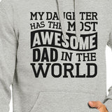 The Most Awesome Dad Unisex Pullover Hoodie Gifts