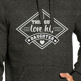 This Guy Love His Daughter Unisex Hoodie Fathers
