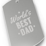 Worlds Best Dad Car Key Chain For Dad Perfect