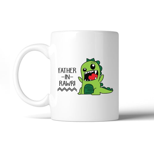 Father-In-Rawr 11oz Ceramic Coffee Mug Funny Gift - Smart gadget & Accessories,Baby & toy