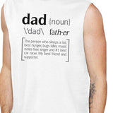 Dad Noun Mens White Muscle Top Father's Day Design - Smart gadget & Accessories,Baby & toy