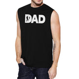 Dad Fish Mens Black Sleeveless Tank Top Dad Gift - Smart gadget & Accessories,Baby & toy