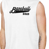 Baseball Dad Men's White Muscle Tank Top Unique - Smart gadget & Accessories,Baby & toy