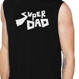 Super Dad Men's Funny Graphic Muscle Top Best Dad