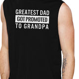 Promoted To Grandpa Muscle Top Baby Announcement