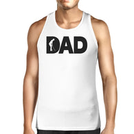 Dad Golf Mens White Graphic Tanks Unique Design - Smart gadget & Accessories,Baby & toy