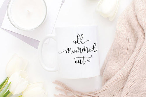 All Mommed Out Mug, Mom Mug, Mommy Mug, Tired Mom, - Smart gadget & Accessories,Baby & toy