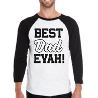 Best Dad Evah Funny Design Baseball Shirt Fathers - Smart gadget & Accessories,Baby & toy
