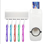 Automatic Toothpaste Dispenser  & Toothbrush Holder  Set Wall Mount - Smart gadget & Accessories,Baby & toy
