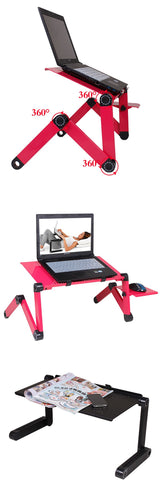 Multi Functional Ergonomic Mobile Laptop Table Stand with mouse pad space - Smart gadget & Accessories,Baby & toy