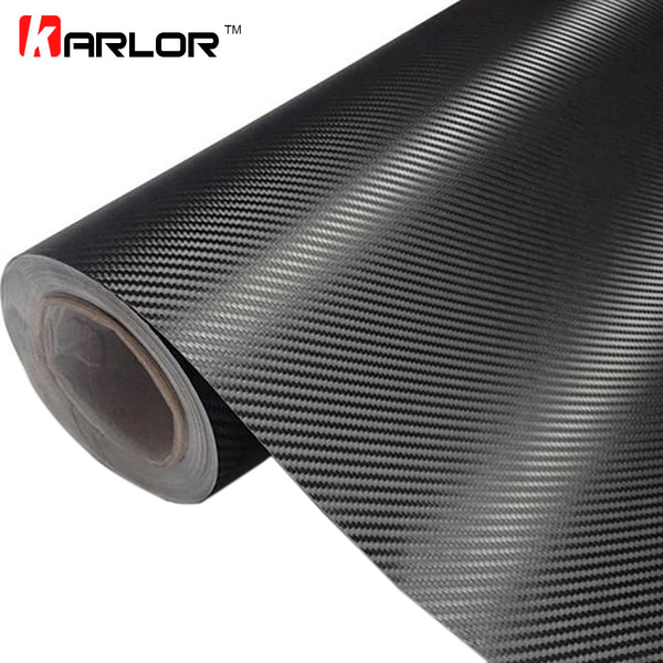 3D Roll Film Car Stickers Carbon Fiber - Life improvement item