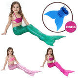 Mermaid Tail Cosplay For Girls Swimming Costume Set - Smart gadget & Accessories,Baby & toy