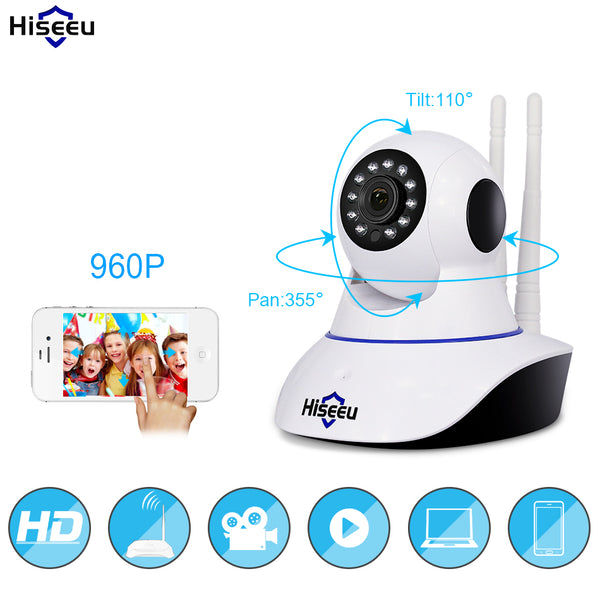 IP Camera CCTV Wifi 960P Night Vision - Smart gadget & Accessories,Baby & toy