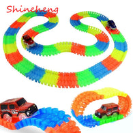 Glowing Rainbow Car Racing Set for Kids - Smart gadget & Accessories,Baby & toy