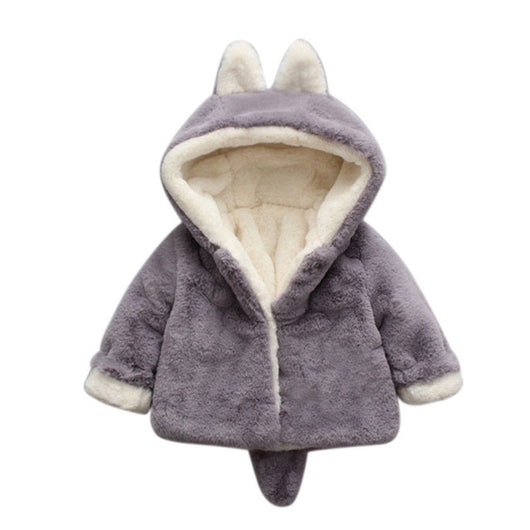 Hooded Winter Coat for Kids - Smart gadget & Accessories,Baby & toy