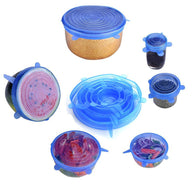 Scute 6PCS/Set Silicone Storage Bowl Cup Cover - Smart gadget & Accessories,Baby & toy