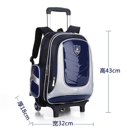 Unisex School Bags with Trolley Rolling for Kids - Smart gadget & Accessories,Baby & toy
