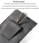 Multipurpose Universal PU Leather Waist Zipper Bag - Smart gadget & Accessories,Baby & toy