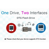 OTG USB Flash Pen Thumb Drive Disk External Storage Memory Stick Dual Micro-USB and USB 3.0 Connectors for phone - Smart gadget & Accessories,Baby & toy