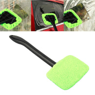 Microfiber glass windshield wiper